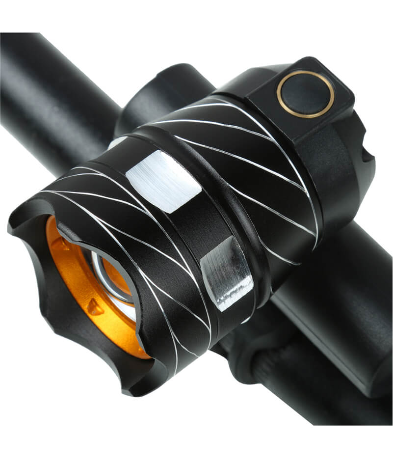1200LM Waterproof T6 LED Front Bike Light Rechargeable Bicycle Light