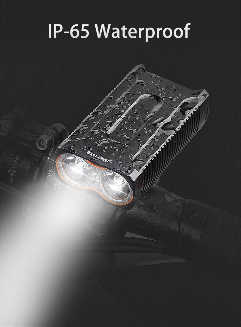 2400LM  Cree T6 LED Cycling Headlight + Free Taillight Bike Light