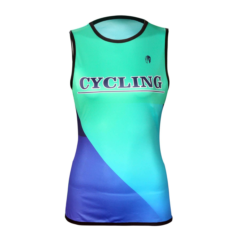 3xl Cycling Tight T-shirt Sleeveless Women'S Bicycle Clothing