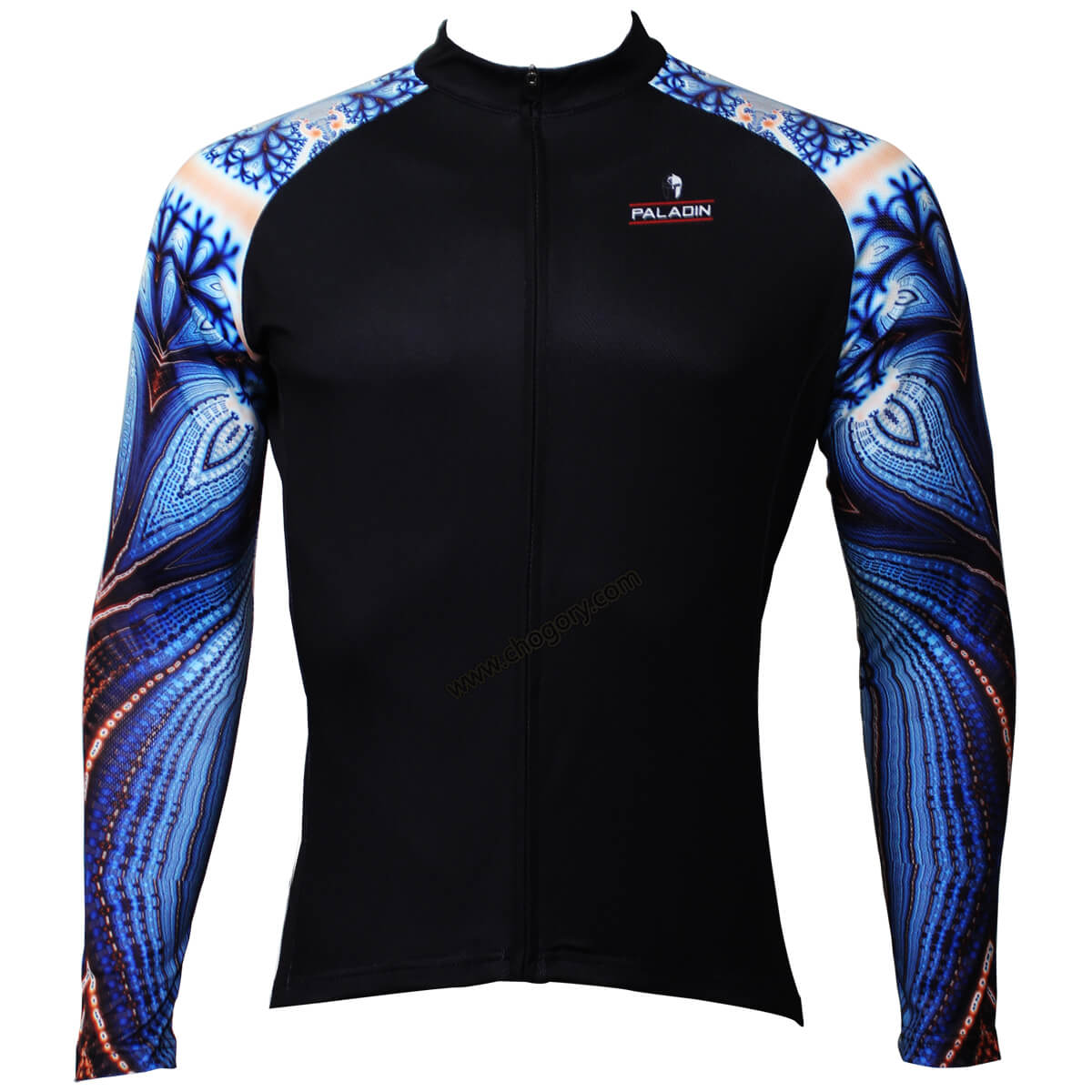 Cool Blue Parrot Sleeves Long Sleeve Cycling Jerseys For ...