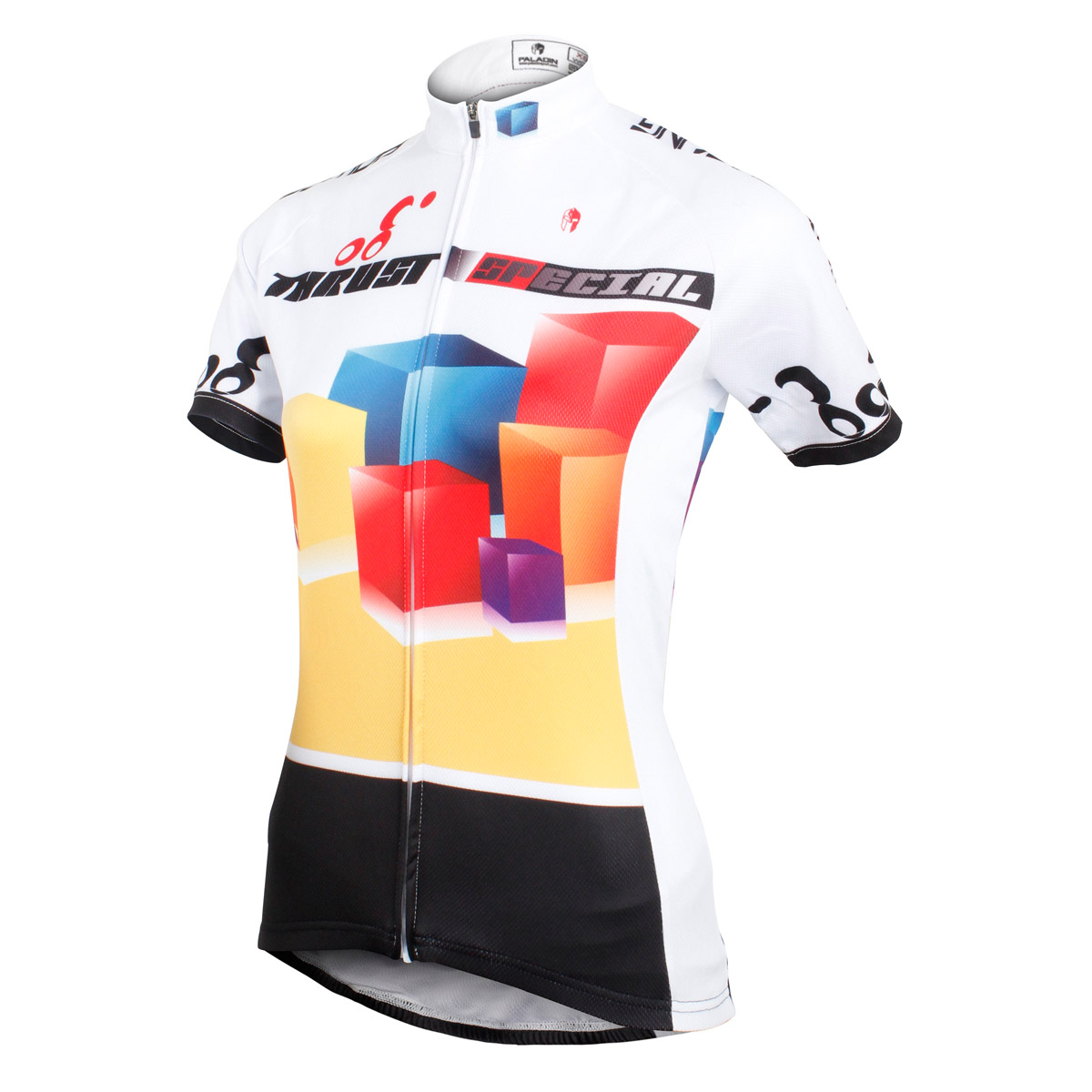 check out 4fd6e fdb92 Original design muticolor 3D cubi ciclismo maglie per ...