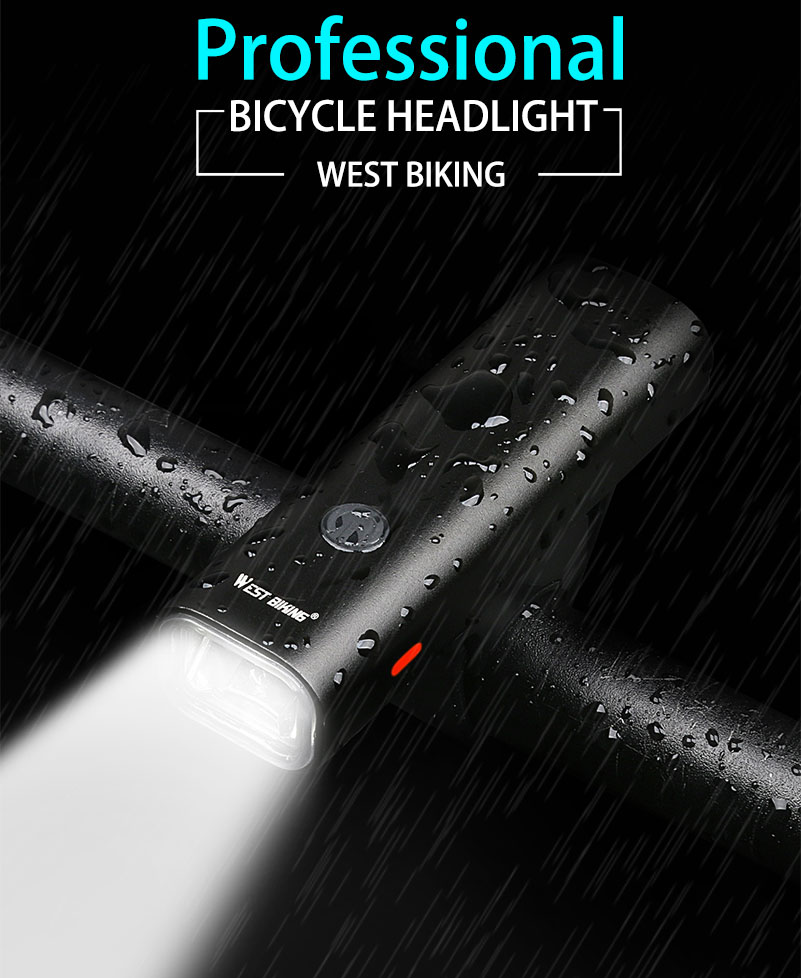 MTB Road USB Chargeable Led Bike Front Light