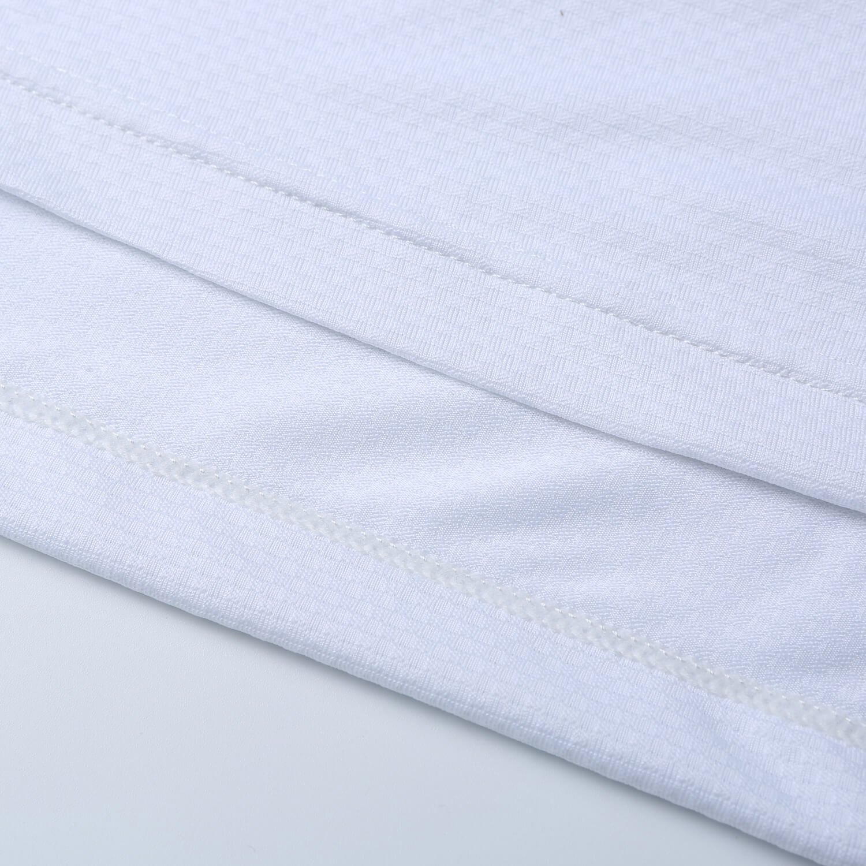 Base layer Long Sleeve Cycling Tshirt White Bicycle Clothing Womens
