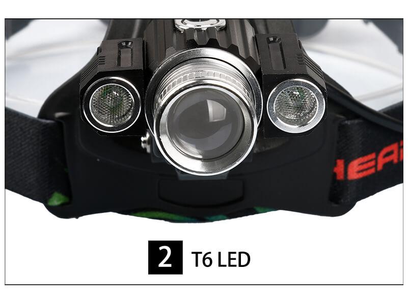 Best Adjustable Cree T6 LED 800LM Front Road MTB Bike Headlight