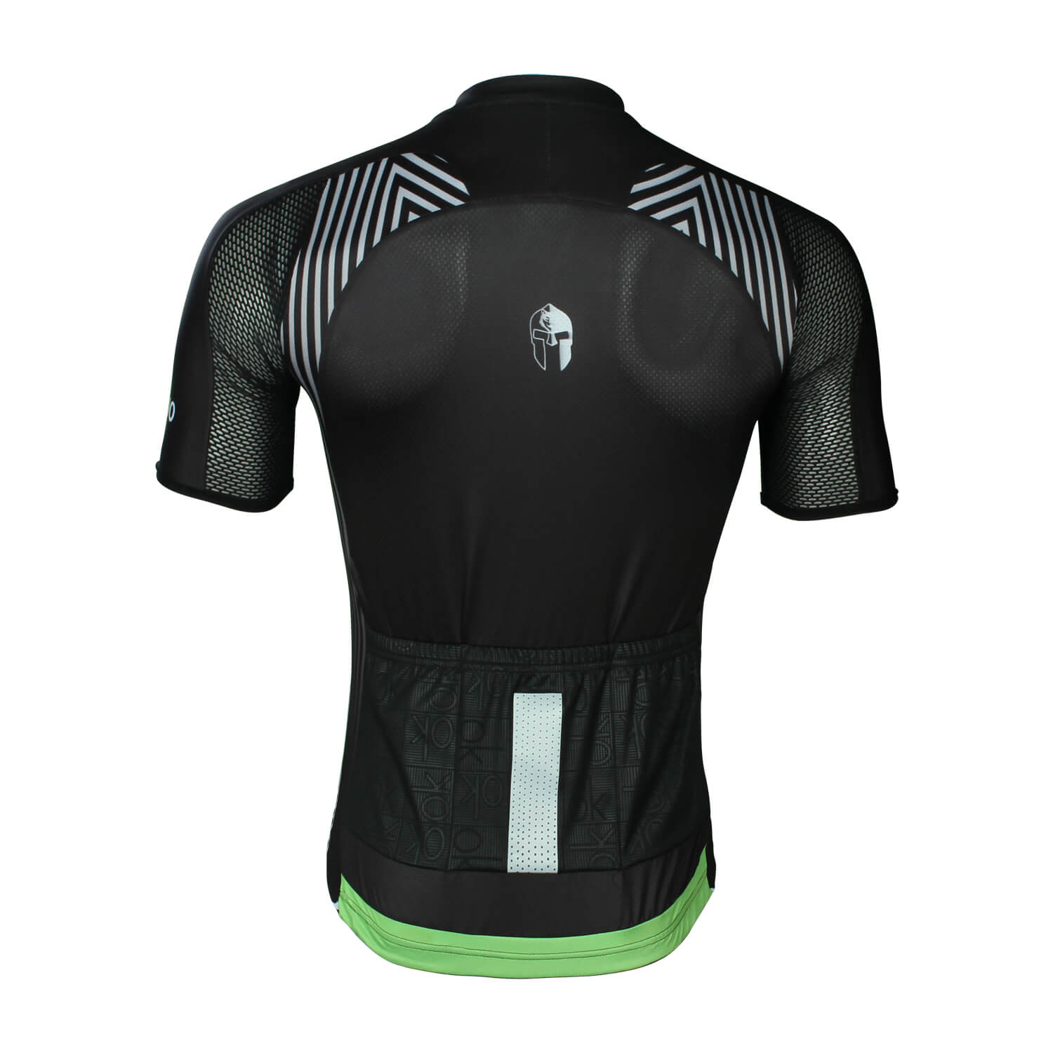 Black and white stripes Mens Cycling Jersey Best Cycling Jerseys