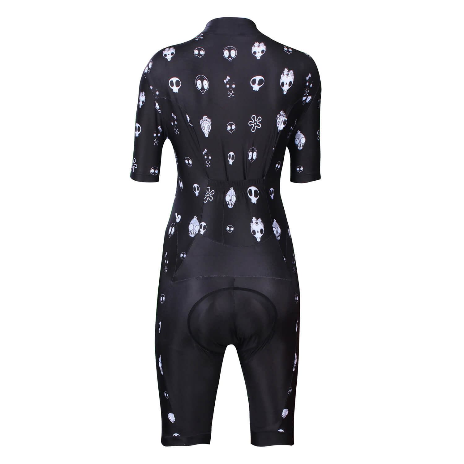 Black Women Cycling Jumpsuits