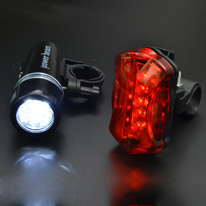 5 LED Bike Bicycle Cycling Safety Warning Tail Rear Lamp Flashing Back 1Pc YmHfT