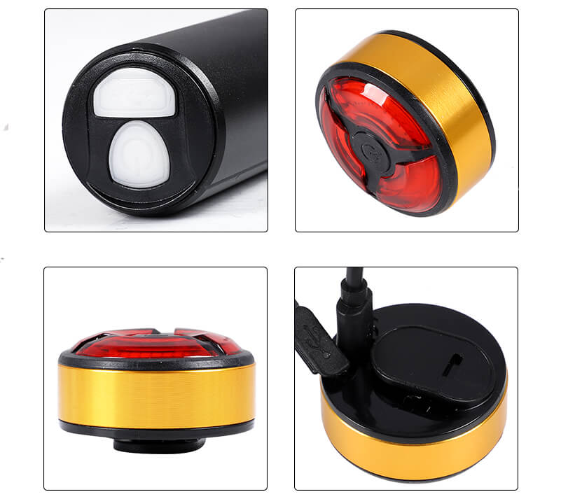 Mini Front Rechargeable Cycling Light Road MTB Bike Safety Light