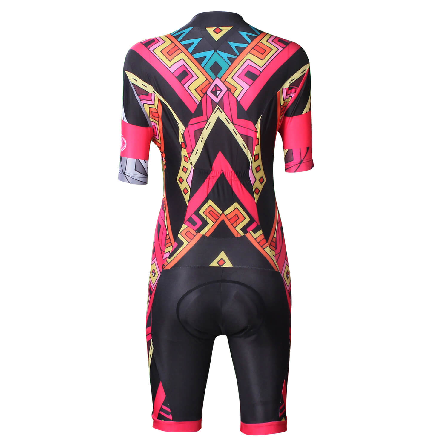 Red Women Jumpsuits 3XL Cycling Jersey