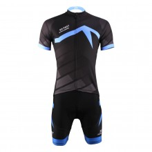 Short Sleeve So Fast Bike Suits For Men's With Jersey and Bib Padded Shorts