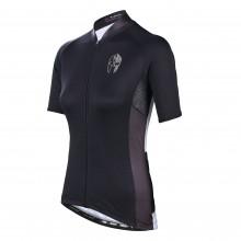 Black 4xl Black Cycling Jersey Women'S Bike Clothing