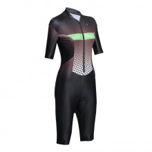 Black Cycling jumpsuit Womens Bike Jersey