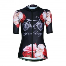 Black Rose Bike Jersey 3exl Cycling Shirts Womens