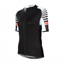 Black XXXL Cycling Jersey Quality Womens Cycling Jersey