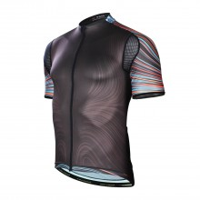 Black YYK Zipper Bicycle Jerseys For Sale Mens Biking Clothes