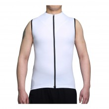 Cool Cycling Jerseys Mens Black Sleeveless Bicycle Jerseys