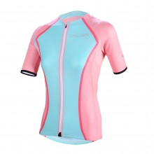 Lovely Pink+Green Bike Jersey XXXL Cycling Shirts Womens