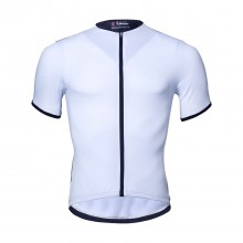 Mens Cycling Clothing Cool White Bike Jerseys