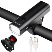 MTB Road USB Chargeable Led Bike Front Light