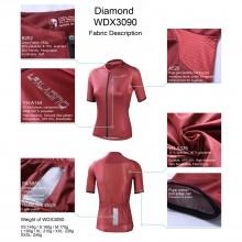 Red Cycling Shirt 3xl Zipper Womens Bike Jersey