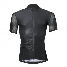 Road Bike Jersey Black Zipper Mountain Bike Jersey Mens