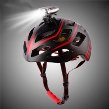 USB Rechargeable Bicycle Helmet Light  CREE LED Front Bike Light