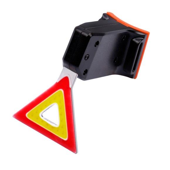 Waterproof USB Rechargeable LED Safe Warning Bike light