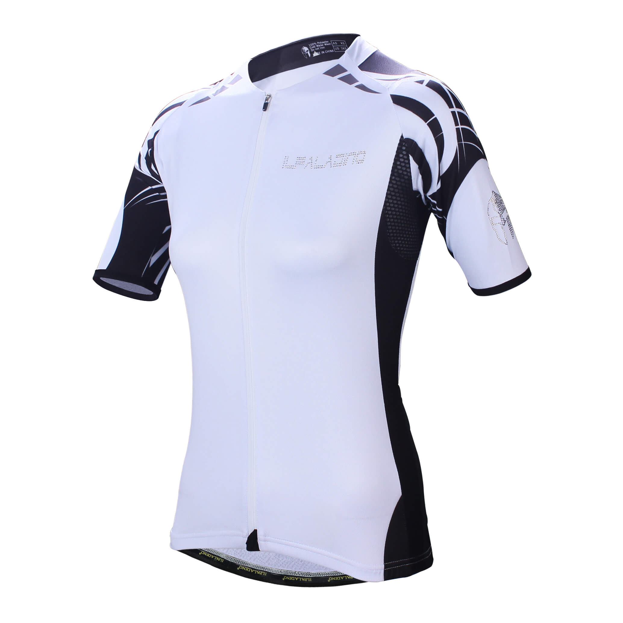 White Womens Cycling Jersey Quality Women'S Bicycle Clothing